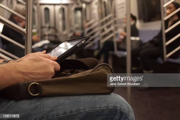 Subway Tablet Reader