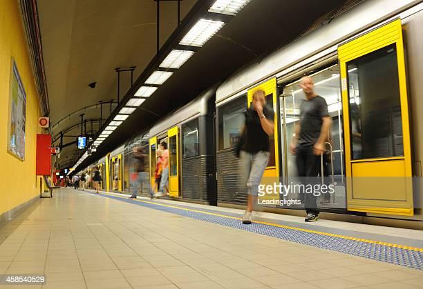 Subway Train Arrival