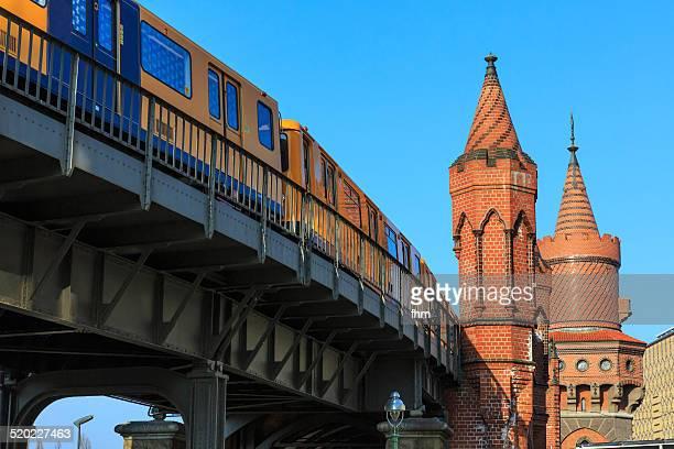 Subway train in Berlin