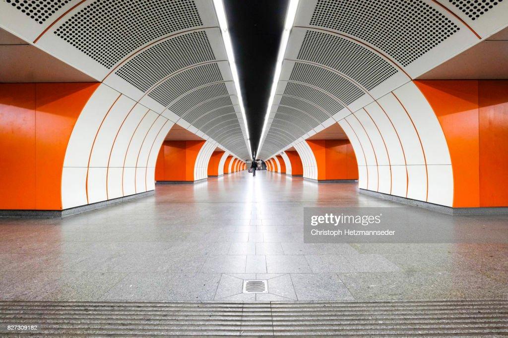 Subway tube : Stock Photo