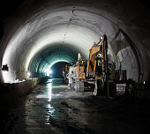 Subway Tunnel Construction