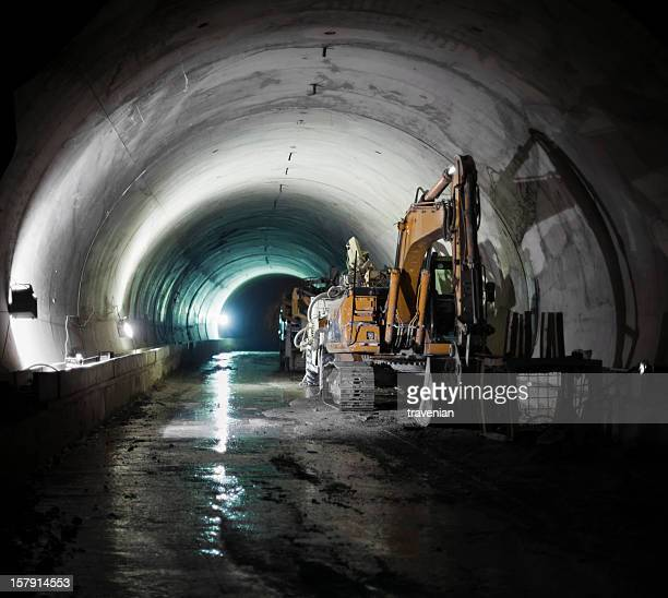 Subway Tunnel Construction