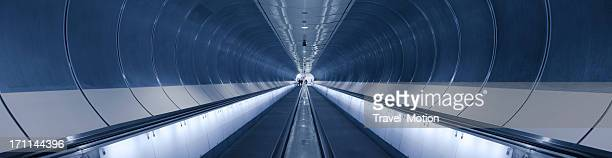 subway tunnel in Rotterdam, the Netherlands