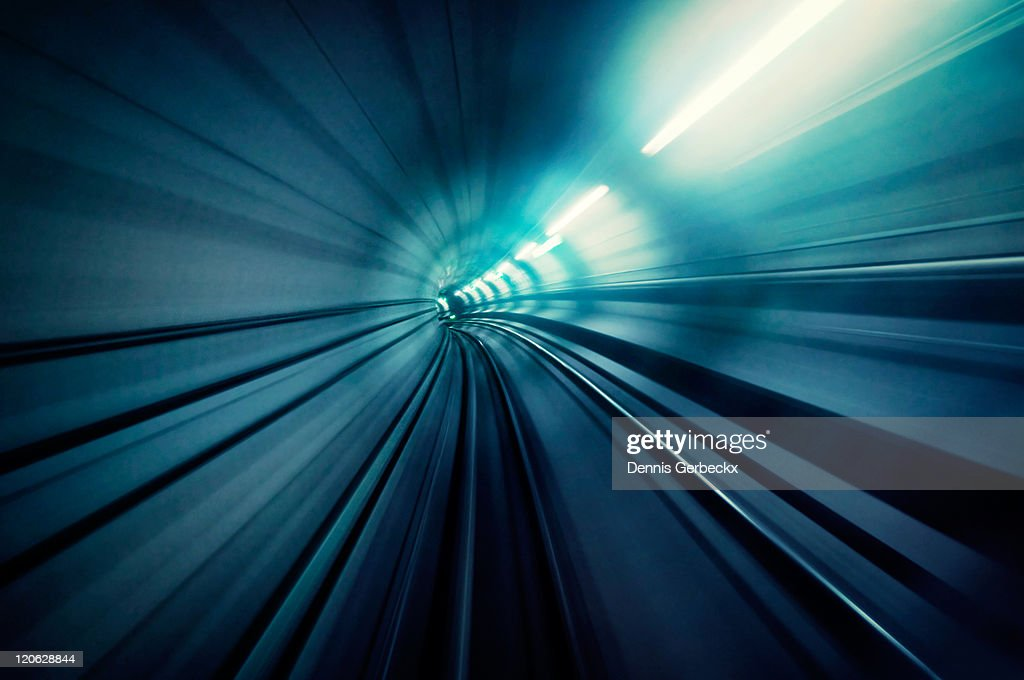 Subway tunnel : Stock Photo