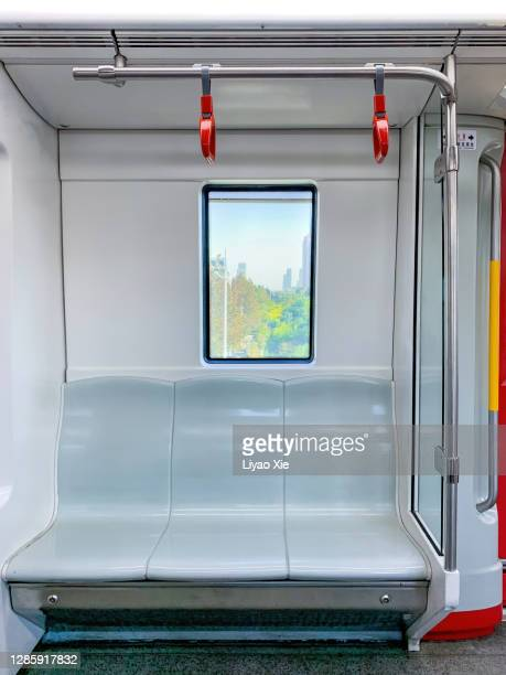 subway window - vehicle interior stock pictures, royalty-free photos & images