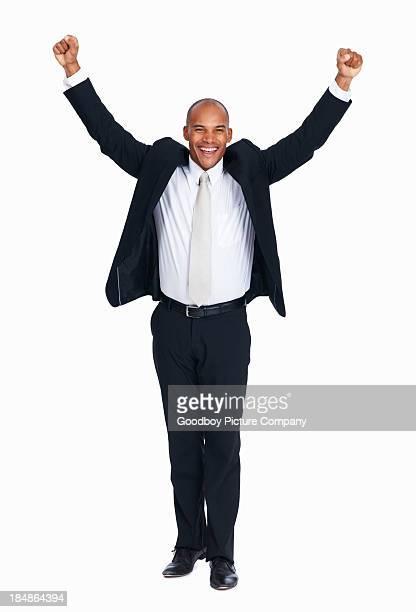 Succesful アフリカ系アメリカ人のビジネス男性