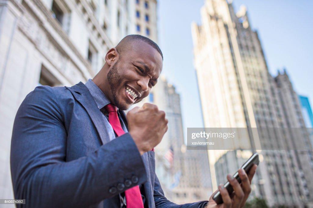 Success businessman : Stock Photo