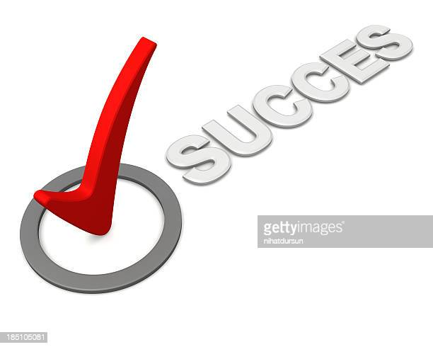 Success checkmark or ticked box