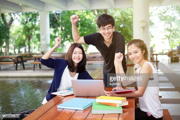 Success education and study concept.