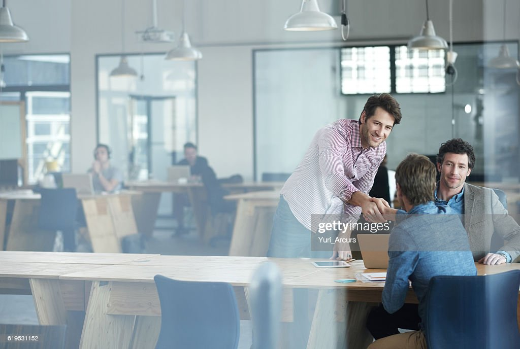 Success happens when a team comes together : Stock Photo