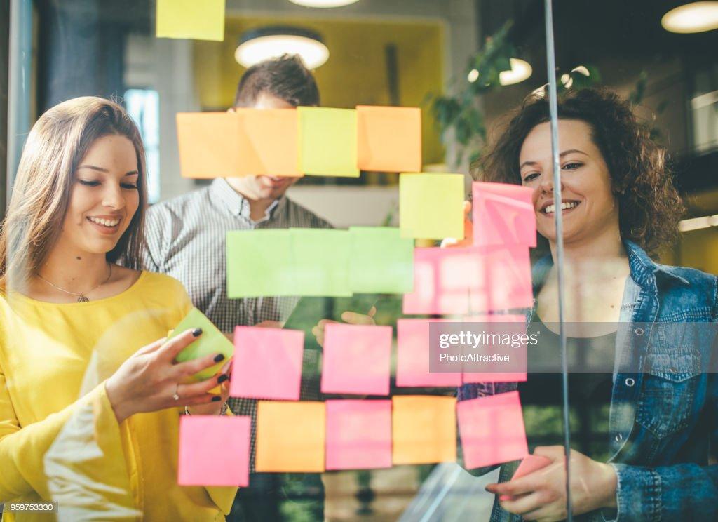 Erfolg im Geschäft beginnt im Gehirn : Stock-Foto