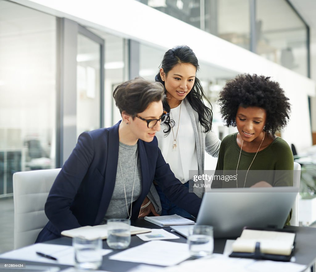 Success is a collaborative effort : Stock Photo