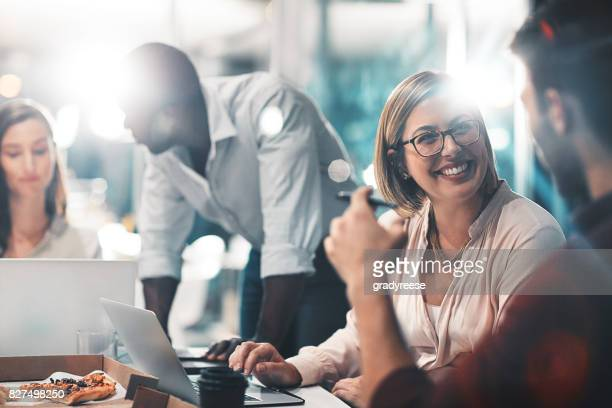 success is a team task - happy stock photos and pictures