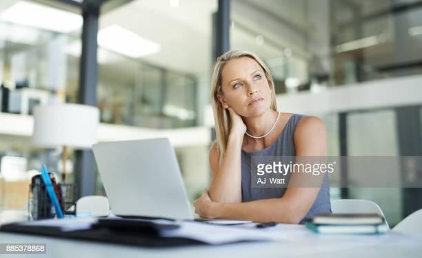 success is all how you see it - solo una donna matura foto e immagini stock