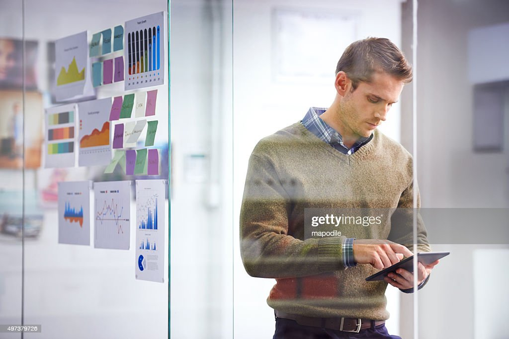 Success is all in the planning : Stock Photo