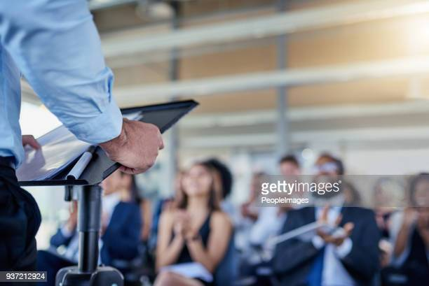 success is always the main focus in their talks - presentation stock pictures, royalty-free photos & images