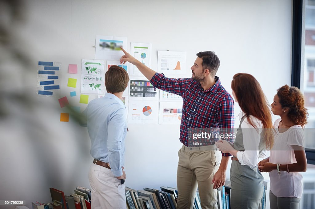 Success is their top priority : Stock Photo