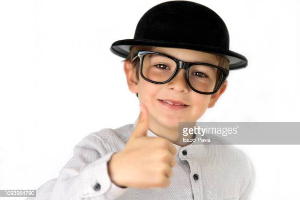 Success kid showing thumbs up