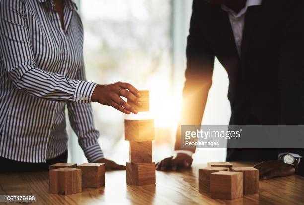 success starts by building a solid foundation - building blocks stock pictures, royalty-free photos & images
