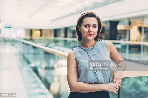 Successful and confident businesswoman