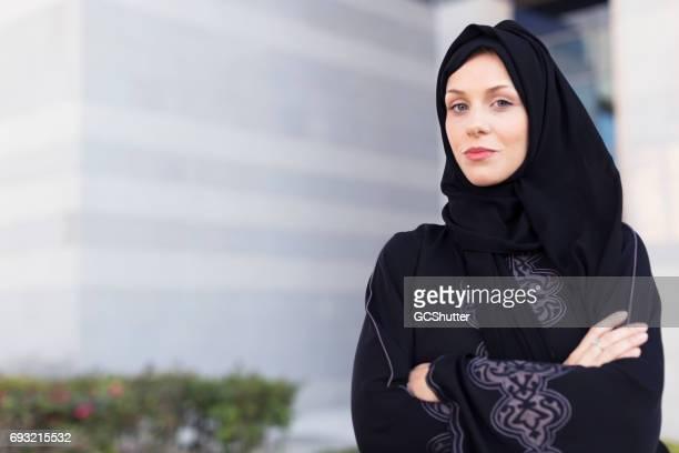 Succesvolle Arabische zakenvrouw