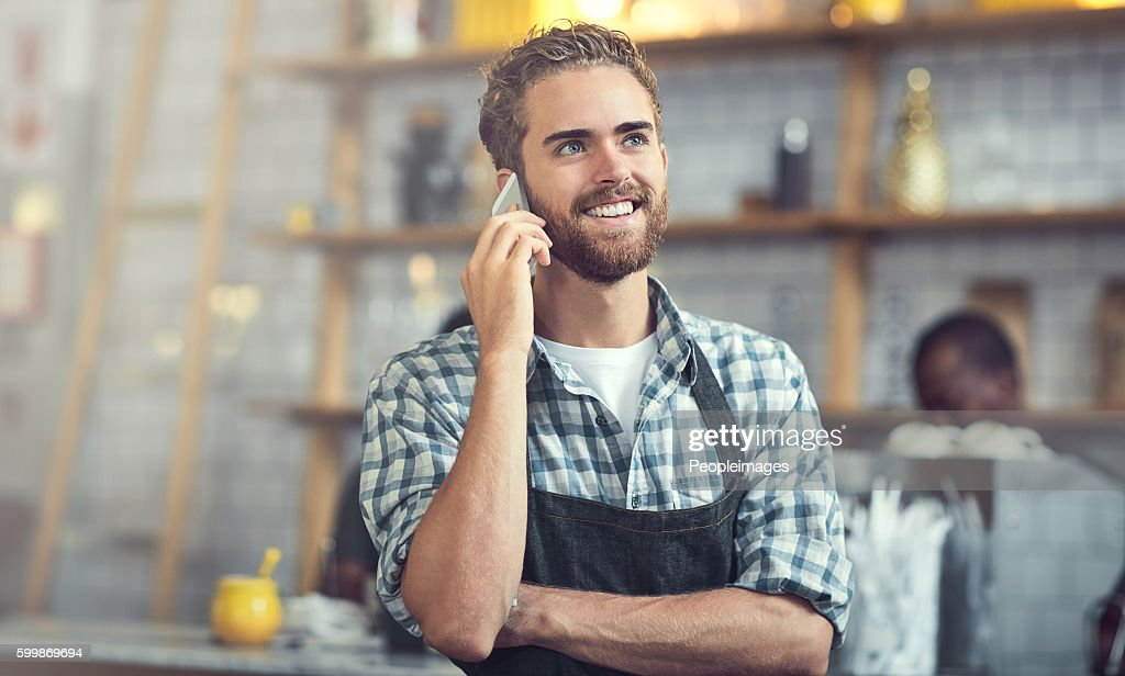 successful business owners make sure theyre accessible stock photo