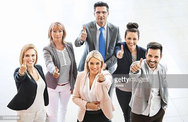 Erfolgreichen business-team.
