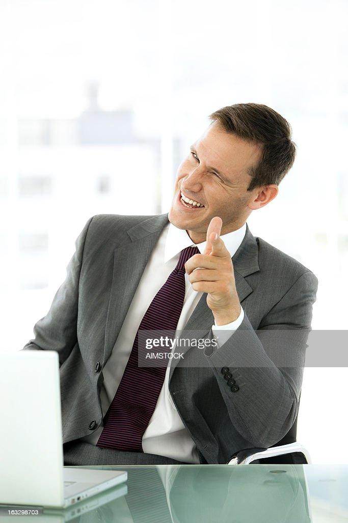 Homme d'affaires prospère : Photo