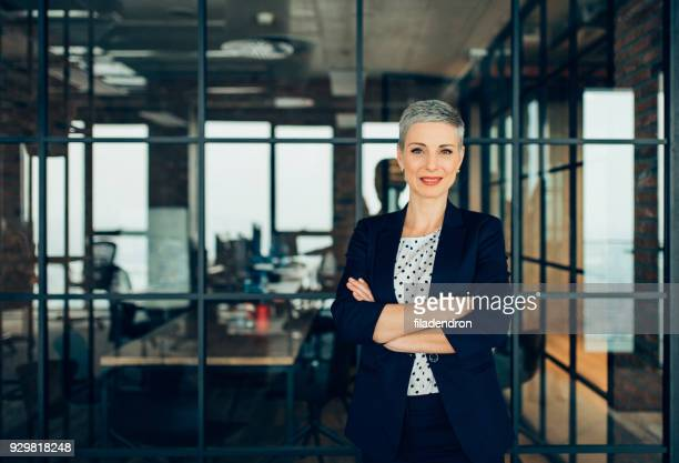successful businesswoman - confidence stock pictures, royalty-free photos & images
