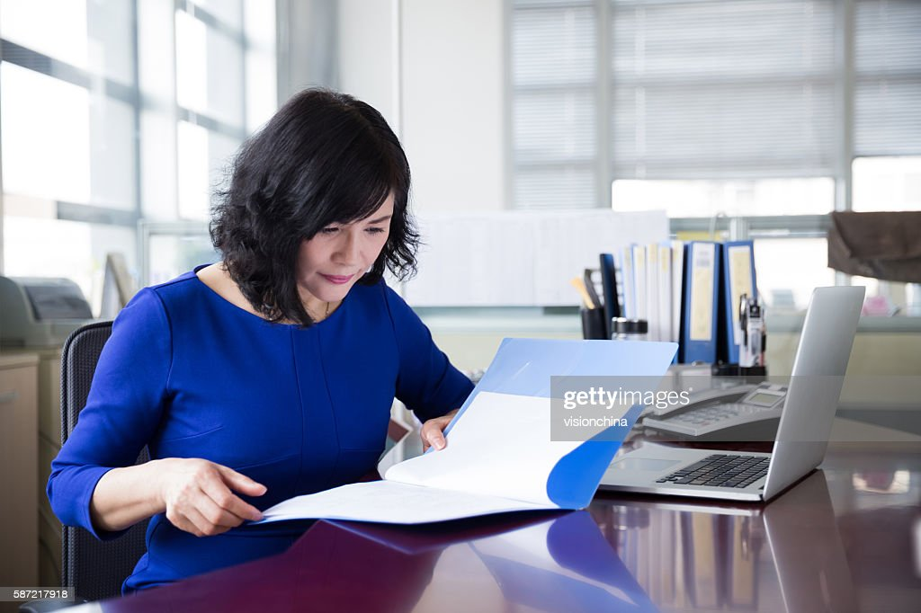 successful chinese business woman : Stock Photo
