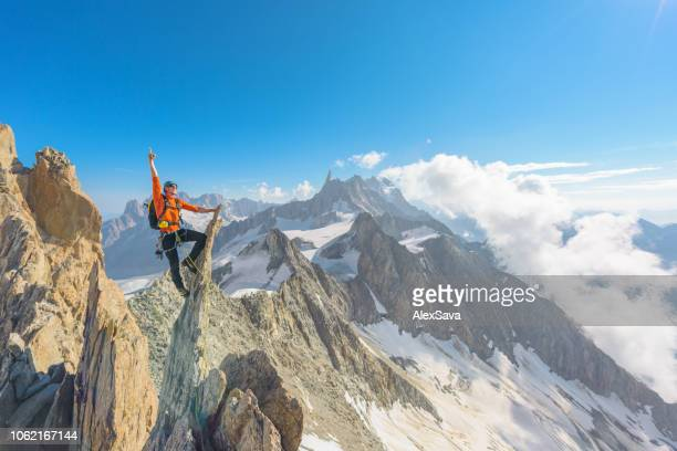 successful climb - cyprus island stock pictures, royalty-free photos & images
