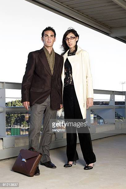 successful couple - brown shoe stock pictures, royalty-free photos & images