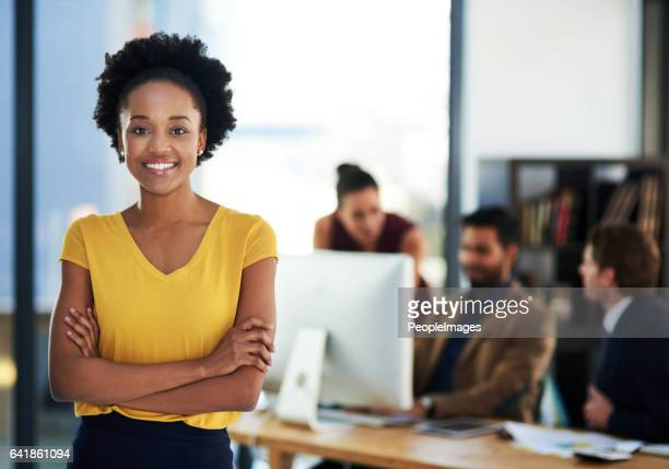 successful entrepreneurs have a strong inner drive - black women stock photos and pictures