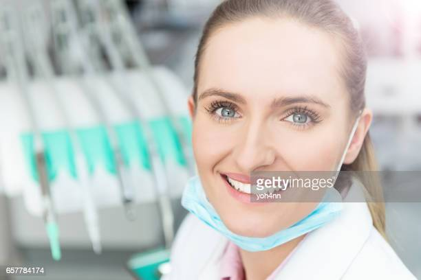 Successful female surgeon