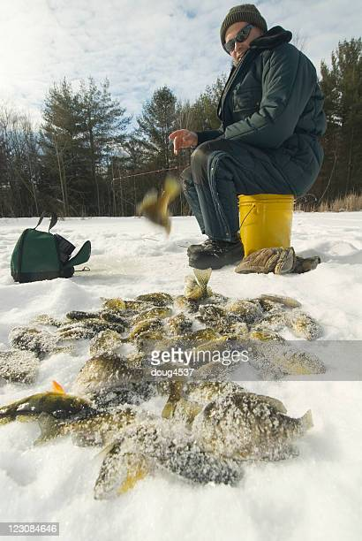 Successful Ice Fisherman