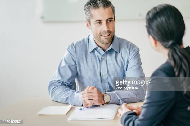 successful job interview - role model stock pictures, royalty-free photos & images