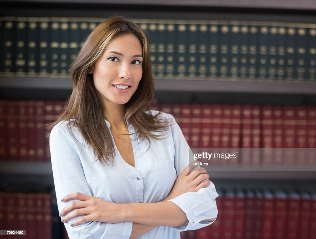 Successful lawyer or business woman : Stock Photo