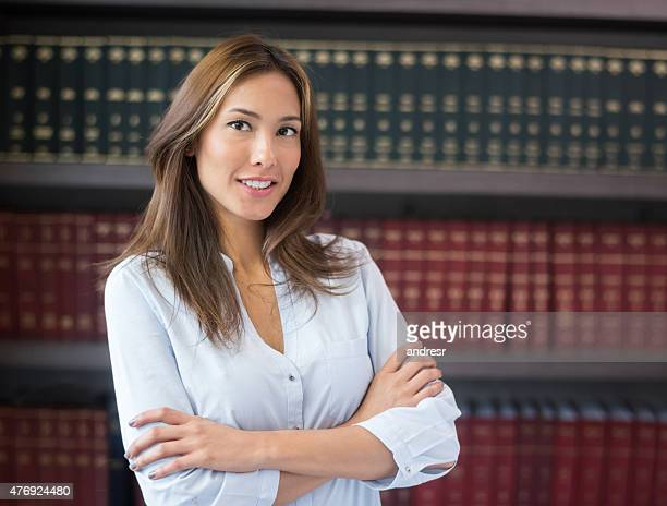 Successful lawyer or business woman