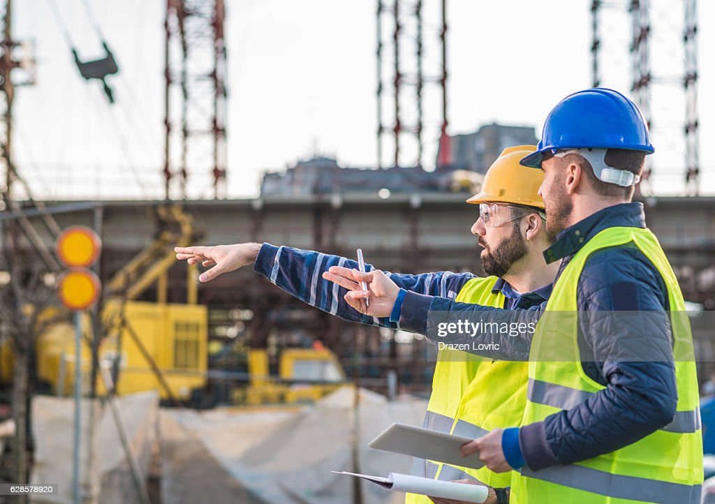 Successful people working on common project : Stock Photo