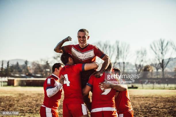 Saison de rugby avec succès