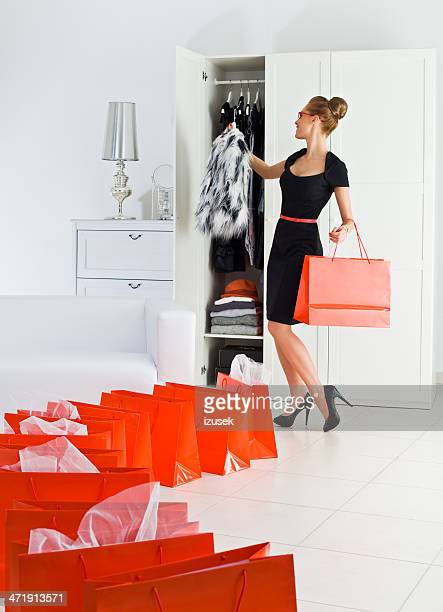 successful shopping - stereotypically upper class stock pictures, royalty-free photos & images