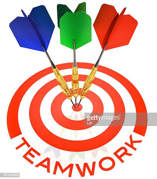 Successful Teamwork concept