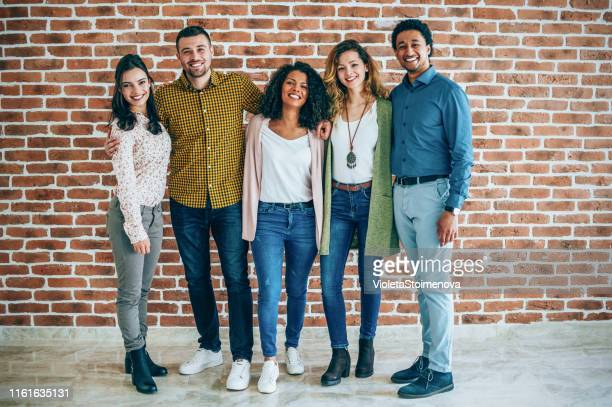 successful young business persons - organized group photo stock pictures, royalty-free photos & images