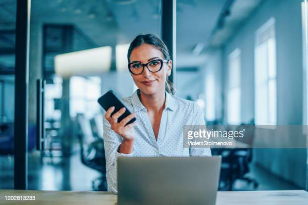 successful young businesswoman - bank manager stock pictures, royalty-free photos & images