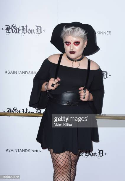 Succubus attends the Kat Von D Beauty Fragrance Launch Press Party #SAINTANDSINNER at Hollywood Roosevelt Hotel on June 20 2017 in Hollywood...