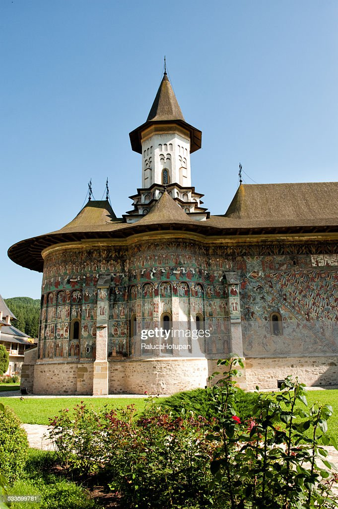 Sucevita Monastery : Foto stock