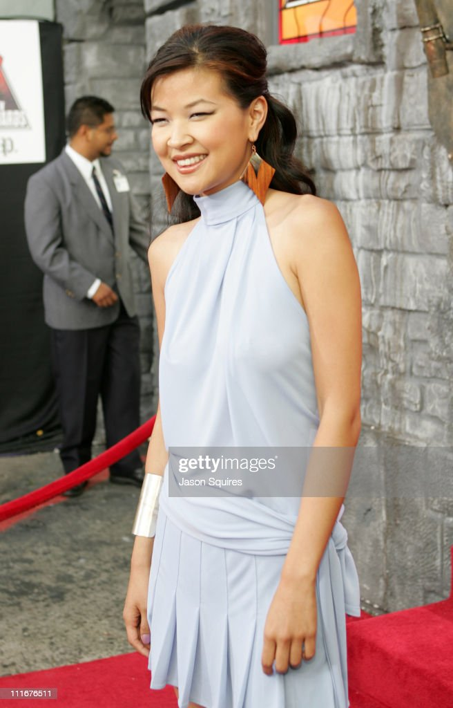 SuChin Pak during MTV Movie Awards 2004 - Arrivals at Sony Pictures Studios in Culver City, California, United States.