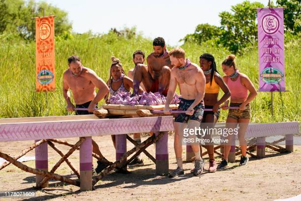 Suck It Up Buttercup Dan Spilo Lauren Beck Jason Linden Aaron Meredith Tommy Sheehan Missy Byrd and Elizabeth Beisel on the Sixth episode of SURVIVOR...