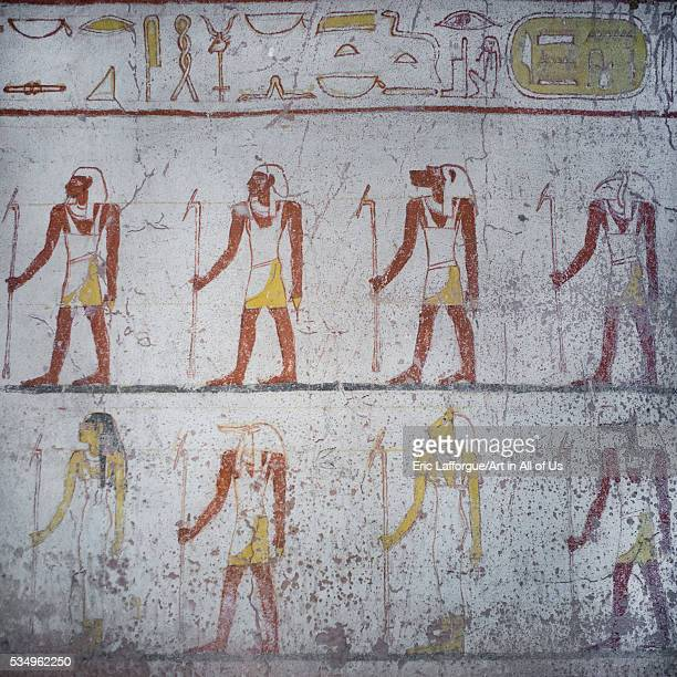 Sudan Fourth Cataract El Kurru burial chamber of the tomb of tanutamani