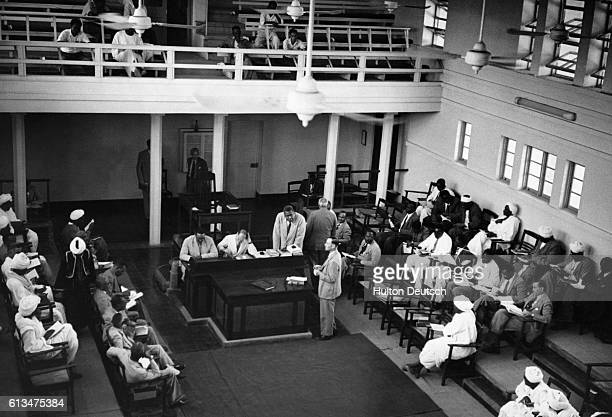 Sudan in ferment A meeting of the Legislative Assembly in Khartoum 1951 Picture Post journalist Kenneth Allsop reports on the tide of nationalism...
